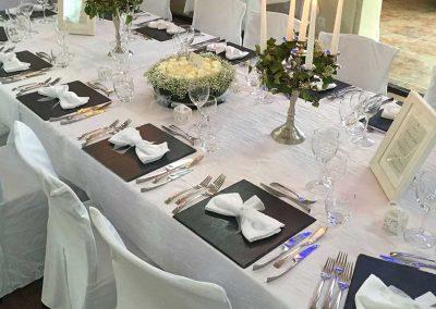 galerie Photos Val de Loir traiteur - table de mariage raffinée