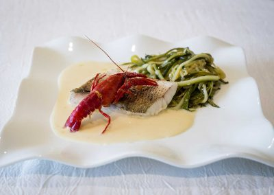 galerie Photos Val de Loir traiteur - filet de poisson et sauce beurre citronné