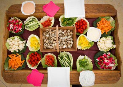 galerie Photos Val de Loir traiteur - charrette de légumes