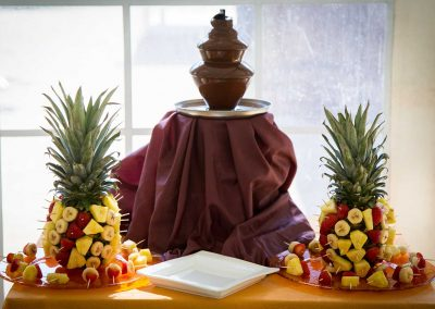 galerie Photos Val de Loir traiteur - fontaine de chocolat aux fruits