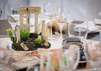 galerie Photos Val de Loir traiteur - table mariage thème Rome